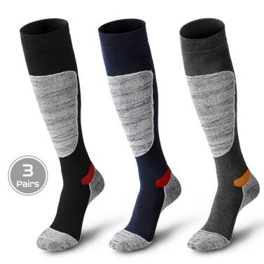 3 Pairs Men Women Winter Terry Thermal Stockings
