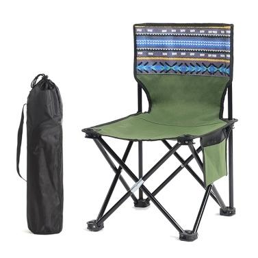 Tamborete de cadeira de pesca dobrável portátil