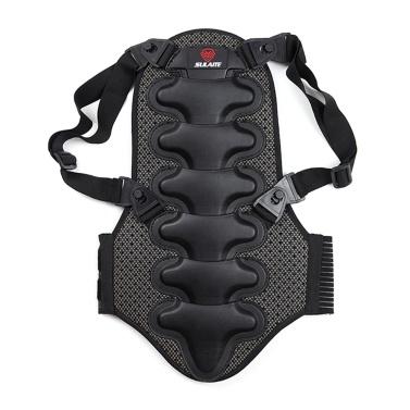 Motorcycle Back Protector Detachable Thick EVA Protection Back Pad Cushion for Motorcycling Mountain Biking Skating Skiing