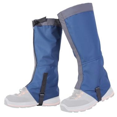 1 Pair Waterproof Leg Gaiters Women Men Boot Legging Gaiter Cover Leg Protection Guard for Skiing Hiking Climbing
