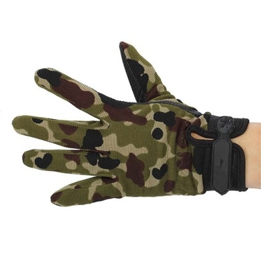 53% off Outdoor Camouflage Non-slip Glove,limited offer $3.99