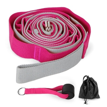 Yoga Assistance Stretching Strap Multi-Loop Strap