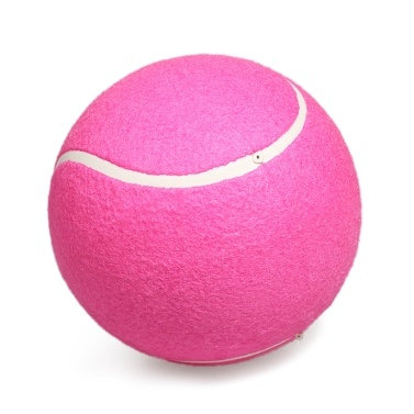 Inflatable Tennis Ball Standard 8 inches Practice Tennis For Training Exercise