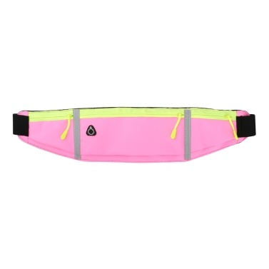 Ultralight Running Belt Bag with Reflective Strips Men Women Water-repellent Waist Bag with Earphone Jack Water-repllent Waistpack with Adjustable Elastic Strap