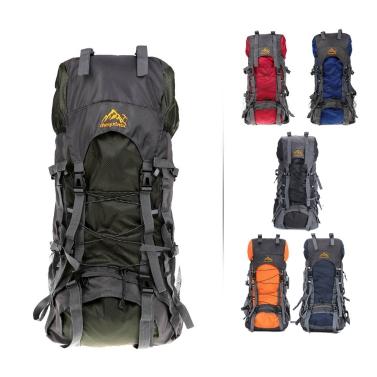 55L Outdoor Water-resistant Sport Backpack