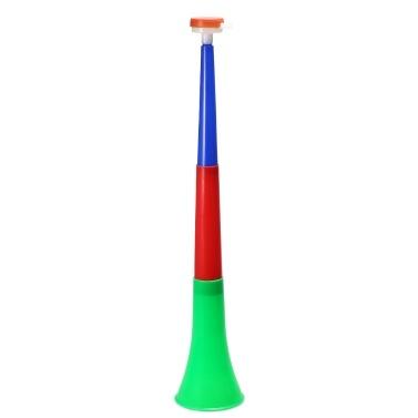 Plastic Vuvuzela Horns Soccer Fan Trumpet
