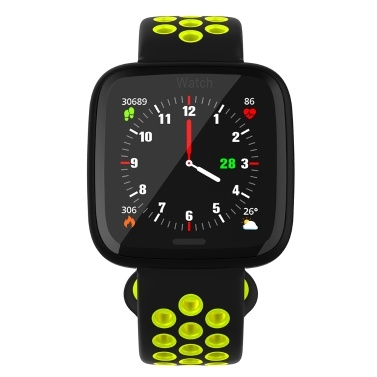 IP67 Smart Armband Damen Herren Fitness Tracker Uhr