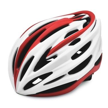 Leichter Fahrradhelm mit weichem, abnehmbarem Futterpolster Verstellbare Herren Damen Trail Racing Helm In-Mould-Fahrradfahrradhelm für Straßen-Mountainbike-Ausrüstung mit CE-Zertifizierung