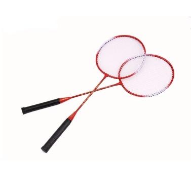 Professional Badminton Racket Stringing Racket Offensive Single Racket Racket 2PC Badminton Badminton Racket Bag Set