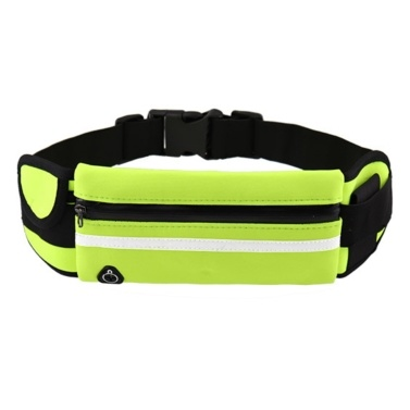 Running Waist Bag with Bottle Holder Sports Travel Portable Gym Bag Hold Water for Men Women