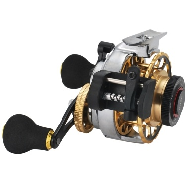 Automatic Wire Spread 10+1 BB Fly Fishing Reel Aluminum Alloy Fishing Reel Left Hand Raft Reel Ice Fishing Reels Automatic Line Casting Fly Reel