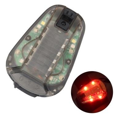 Helmet Strobe Light Water Resistant Helmet-mounted Lamp Survival Safety Flash Light For Outdoor Survival Camping