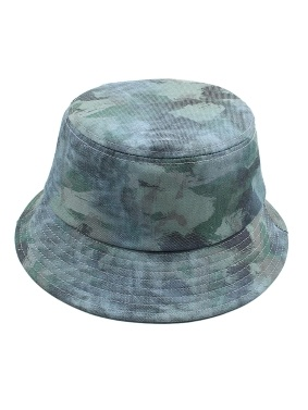 Bucket Hat Camouflage Adjustable Foldable Wide Brim Fisherman Caps for Traveling Beach Vacation