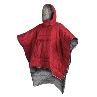 Water-resistant Sleeping Bag Cloak Poncho Portable Outdoor Camping Backpacking Hiking Travel Sleeping Blanket Quilt Coat with Hood