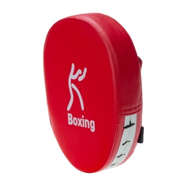 Boxing Punching Mitt PU Leather Thick Foam Curved Focus Target Pad Kickboxing Muay Thai Karate Training Hand Pads