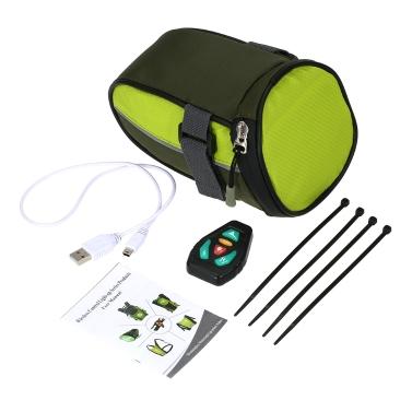 Lixada Lightweight USB Bike Seat Bag