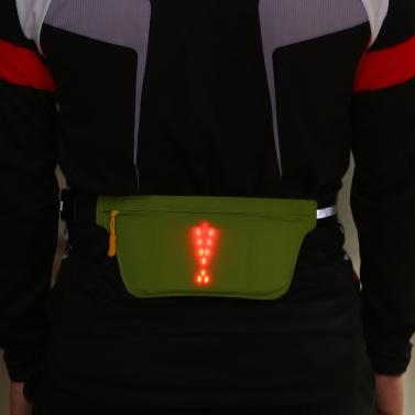 Lixada Lightweight USB wiederaufladbarer reflektierender Gürtel