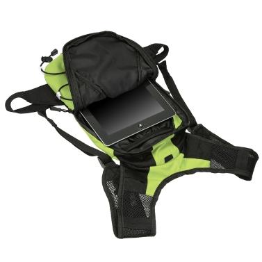 Lixada 5L Lightweight USB Rechargeable Reflective Backpack