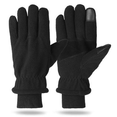 Winter Thermal Gloves Touchscreen Polar Fleece