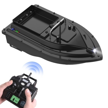 GPS Fishing Bait Boat with Large Bait Container Automatic Bait Boat with 400-500M Remote Range