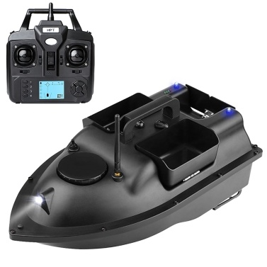 GPS Fishing Bait Boat with 3 Bait Containers Wireless Bait Boat with Automatic Return Function
