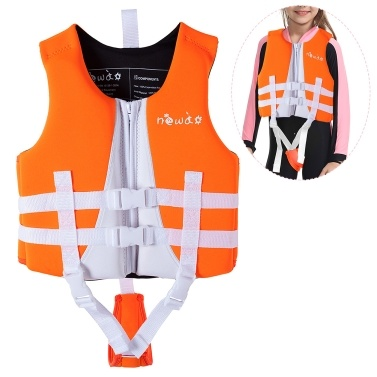 Kids Swim Vest Life Jacket Swimming Training Flotation Swimsuit Buoyancy Swimwear for Boys Girls