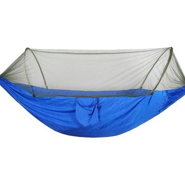 Tragbare Outdoor-Camping-Hängematte mit Moskito-Insektennetz