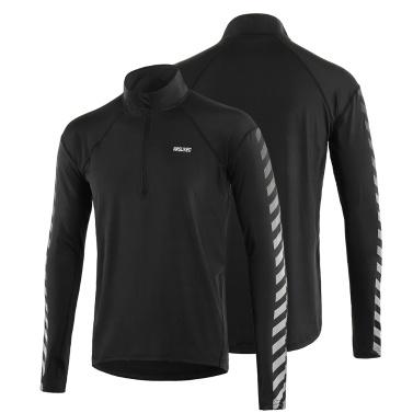 Athletic Quick Dry Langarm-Pullover für Männer