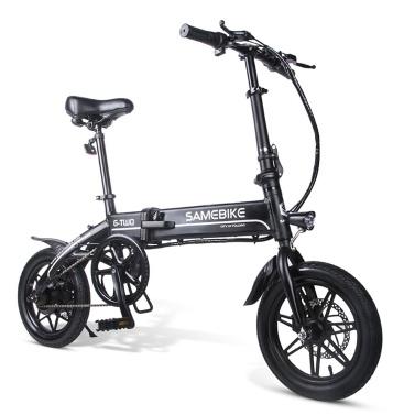 Samebike 14 Polegada Bicicleta Elétrica Dobrável