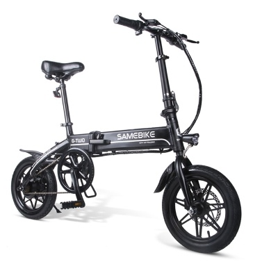 Samebike 14 Zoll faltbares elektrisches Fahrrad
