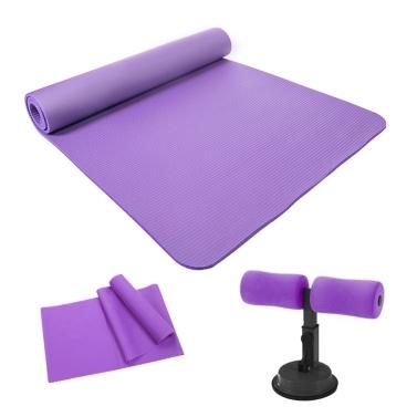 Umweltfreundliche und geschmacklose Yoga-Übungsmatte mit Sit-up-Assistenten