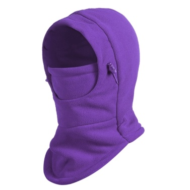Balaclava Hood Ski Face Mask Neck Warmer Winter Fleece Hat for Women and Men