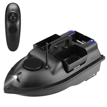 Wireless Remote Control Fishing Bait Boat with 3 Bait Containers Fish Finder Device