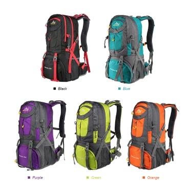 Men Women 50L Large Capacity Outdoor Sports Mountaineering Backpack Hiking Trekking Travel Bag Knapsack
