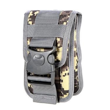 Nylon Molle Pouch Cell Phone Belt Clip Holder Utility Gadget Waist Pouch Modular Phone Waist Bag Outdoor Gear