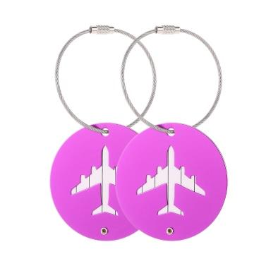 2Pcs Aluminiumlegierung Metall Air Plane Pattern