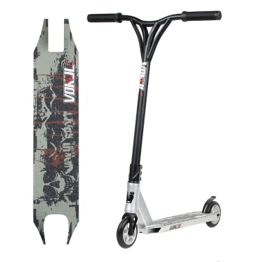 Smooth Profi Sports Scooter Tretroller 2 Wheels Scooter Skateboard CR-MO-Schlauch für Pro Amateur
