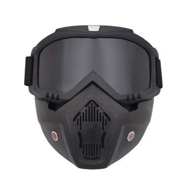 モジュラーマスク取り外し可能ゴーグル