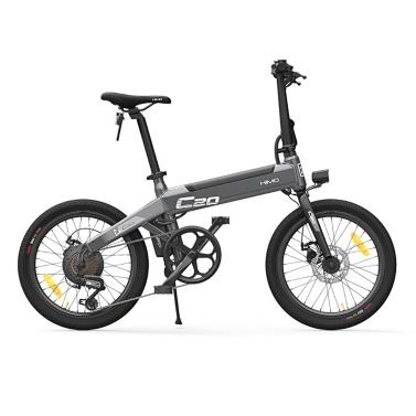 オリジナルのXiaomi HIMO C20 20インチ折りたたみ80KMレンジパワーアシスト電動自転車