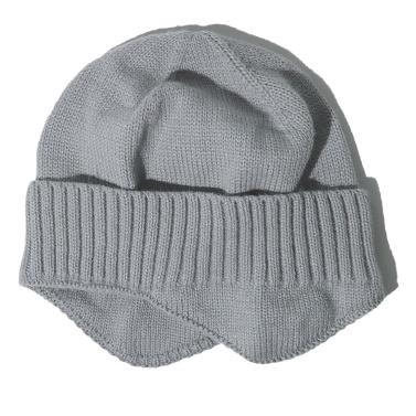Men Women Winter Knitted Hat Warm Fleece Earflaps Windproof Outdoor Sport Cycling Beanie Hat