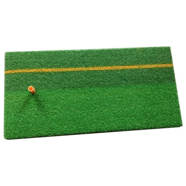 Golf Practice Hitting Mat with Rubber Tee Residential Practice Grass Mat Driving Chipping   Turf Mat for Indoor Outdoor