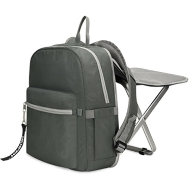Lightweight Backpack Stool Combo Backpack with Folding Chair for Outdoor Camping Fishing Hiking Picnic BBQ