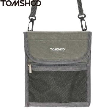 TOMSHOO Spielraum-Ansatz-Beutel-Halter Taschen für Passport Geld Kreditkarten Handy Dokumente