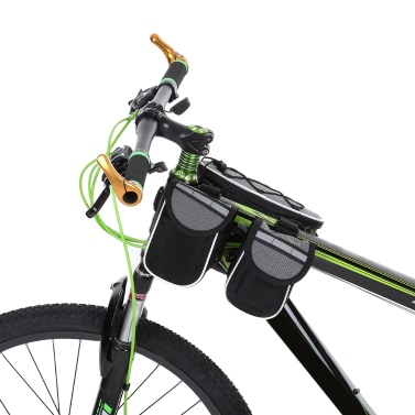 Docooler Detachable Bike Bicycle Cycle Front Frame Bag Front Tube Bag Pouch Pack Cross-body Bag