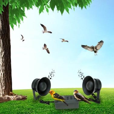 Im freien Jagd Decoy Vogel Anrufer Mp3 Bird Sound mit 2 Lautsprecher 35W Verstärker 125dB