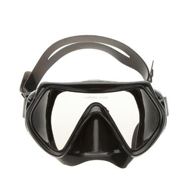 Lixada Erwachsenen Schwimmbrille Antifog Tauchen Ausrüstung einstellbare Maske Brille
