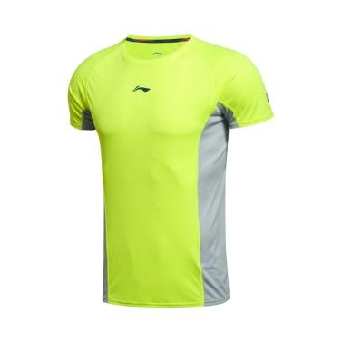 LI-NING Running Serie Schnell Trocknen Atmungsaktiv Sommer Sportbekleidung Männer T-Shirt Kurze Ärmel AHSK181
