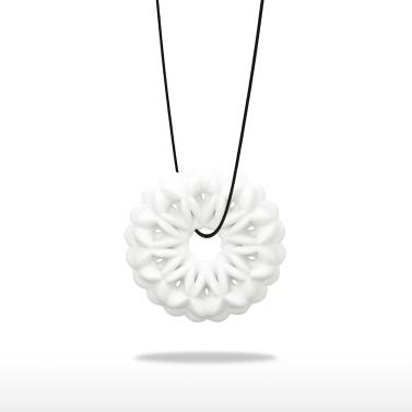 Snowflake Anhänger Tomfeel 3D-Druck Schmuck Original Design Einzigartiges Modell