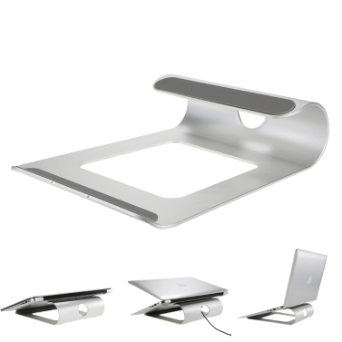 48% OFF Aluminum Alloy Laptop Stand Desk Dock Holder,limited offer $16.99