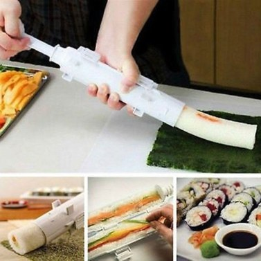 73% de rabais sur le kit de bricolage pour moules à sushi Moule à biscuits pour cuisine maison seulement € 4,22 sur tomtop.com + livraison gratuite